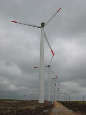 Kaliakra wind turbines