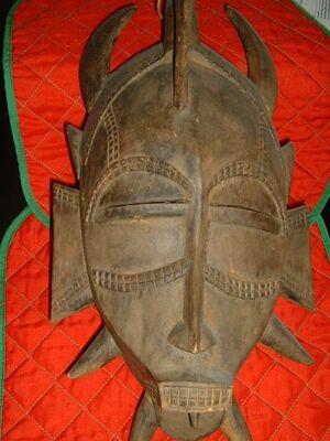Maske Cote d'Ivoire