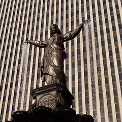 Genius of Water, Fountain Square