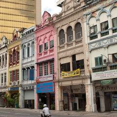 Old buildings in Kuala Lumpur