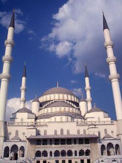Kocatepe Mosque Ankara