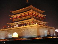 China xian glockenturm 01