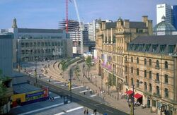 Manchester Exchange Squares