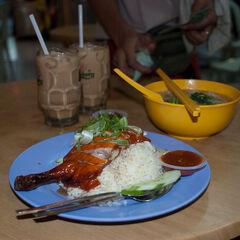 Chinese lunch at Kuala Lumpur