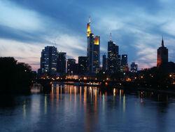 Sonnenuntergang Frankfurt