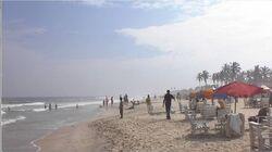 Ghana Labadi beach