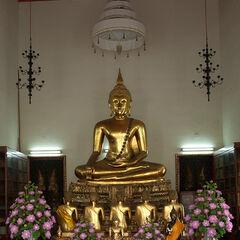 Buddhist monastery, Bangkok, Thailand