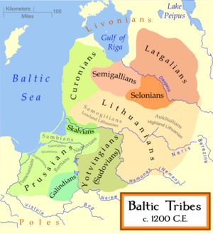 Baltic Tribes 1200