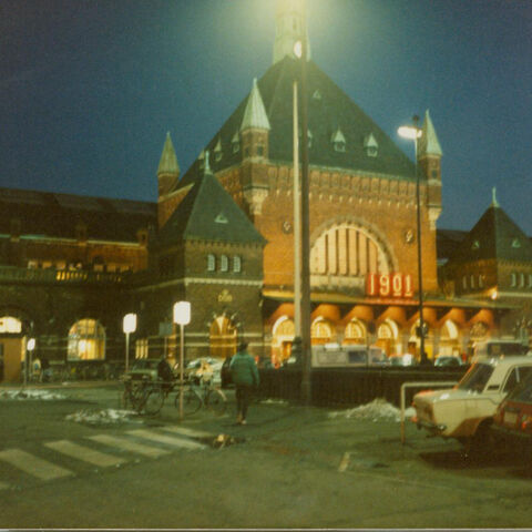 Copenhagen's Central Railroad Depot