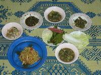 Mittagessen.Thailand