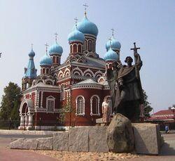 Borisov-prince-monument-and-church