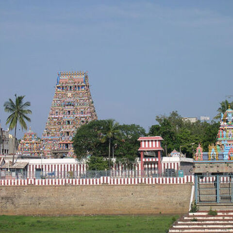 The Kapaleeshwarar temple