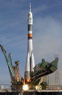 Baikonur Cosmodrome in Kazakhstan
