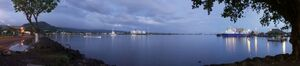 800px-Samoa - Apia Harbour at dawn