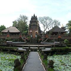 Hindu Temple Complex, Ubud, Bali, Indonesia