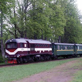 Ģulbene - Alūksne narrow gauge railway.