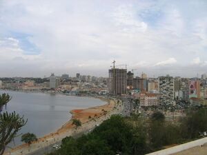 Luanda from Fortaleza Feb 2006