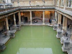 Roman bath at bath england