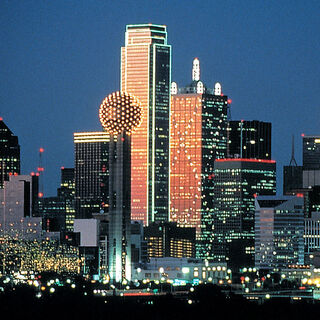 Dallas Night view
