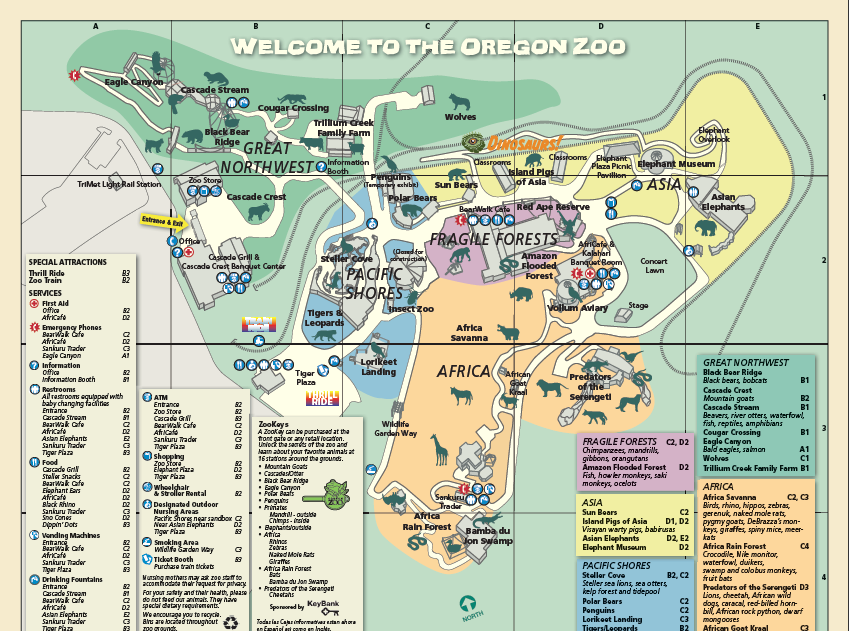 Image - Oregon zoo map.png | Travel Wiki | FANDOM powered by Wikia on african lion safari map, south los angeles map, cbs studios map, griffith park map, angels flight map, greater los angeles area map, kansas city zoo map, north los angeles county map, callejones de los angeles map, university of maryland medical center map, columbus zoo and aquarium map, six flags magic mountain map, los feliz map, la brea tar pits map, point defiance zoo & aquarium map, arizona-sonora desert museum map, los angeles fashion district map, el dorado nature center map, disneyland map, national zoo map,