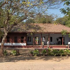 Sabarmati Ashram, the nerve center of India's independence movement (<a href=