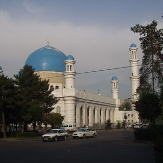 A Mosque in Almaty