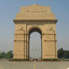 India Gate, <a href=
