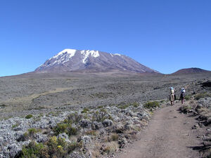 Kibo summit of Mt Kilimanjaro 001