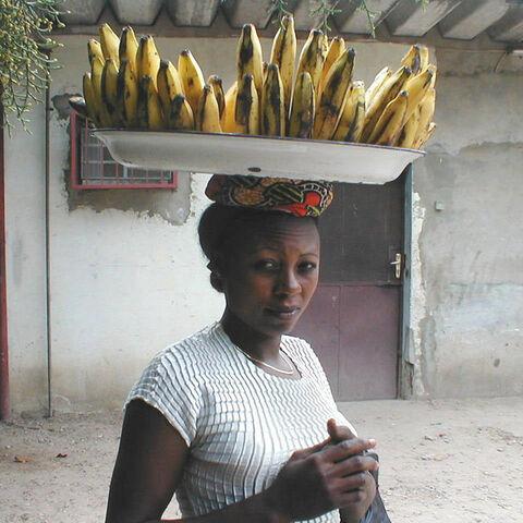 A banana seller