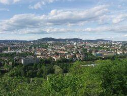 Oslo mot Grefsentoppen fra Ekeberg