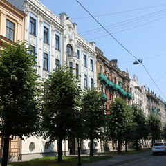 Riga is famous for it's Art Nouveau architecture.