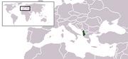 LocationAlbania