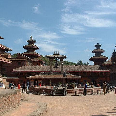 Patan's temples