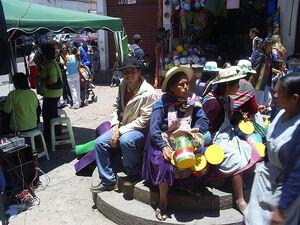 Centro de La Paz en Bolivia