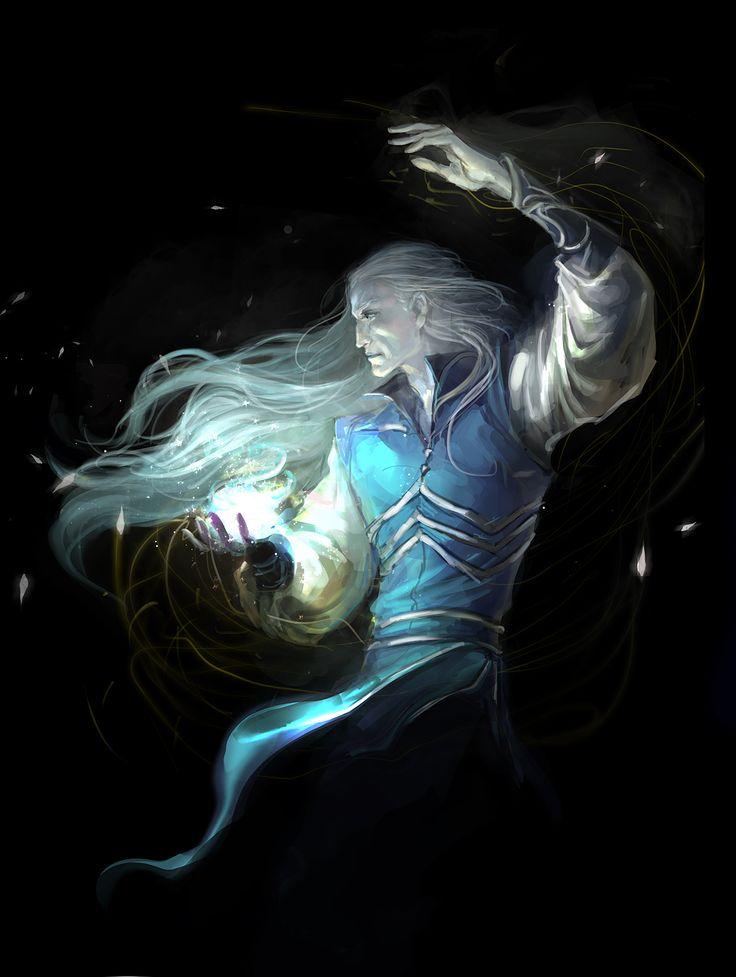 Elf Mage Fantasy Art