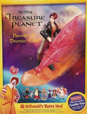 MCD TreasurePlanet