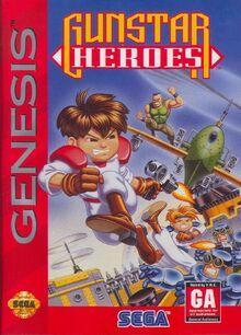Gunstar Heroes Genesis Cover