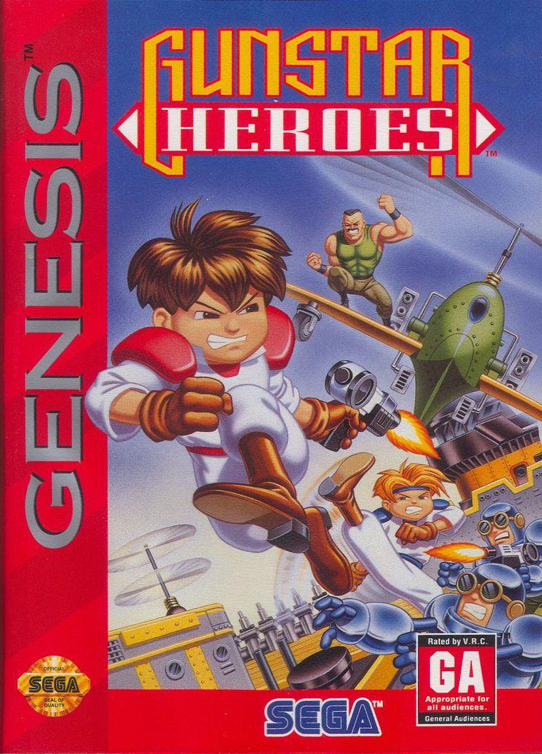 Gunstar Heroes | Treasure Wiki | FANDOM powered by Wikia