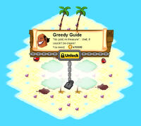 Paske Island locked