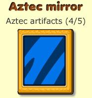 Aztec mirror