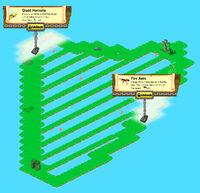 Harp Island locked