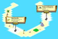 Horseshoe Island locked