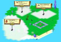 Huge Island locked