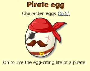 Pirate egg