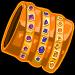 Gold wristband
