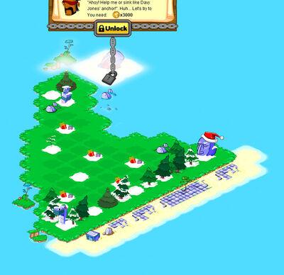 Hat Island locked