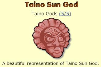 Taino Sun God