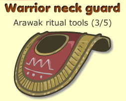 Warrior neck guard