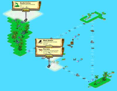Bermuda Triangle locked