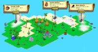 Far Island redesigned locked